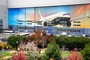 Boeing Will Halt Renton Assembly Lines for 737 MAX, But No Layoffs for Employees
